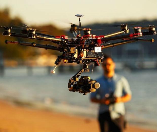 0PIloto de Drone Encontra Homem Desaparecido