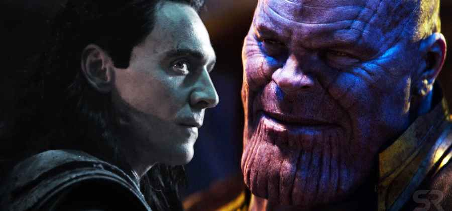 Loki and Thanos in Avenges Infinity War 1