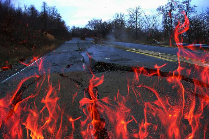 centralia a cidade fantasma que estc3a1 com o solo em chamas desde 1962